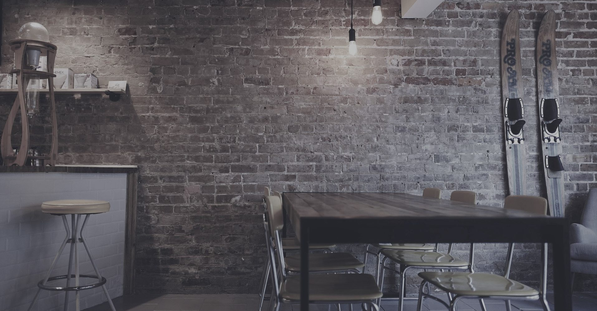 Arredamento moderno e minimalista