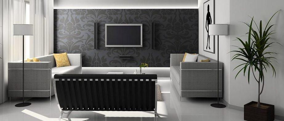 Arredamento moderno minimalista