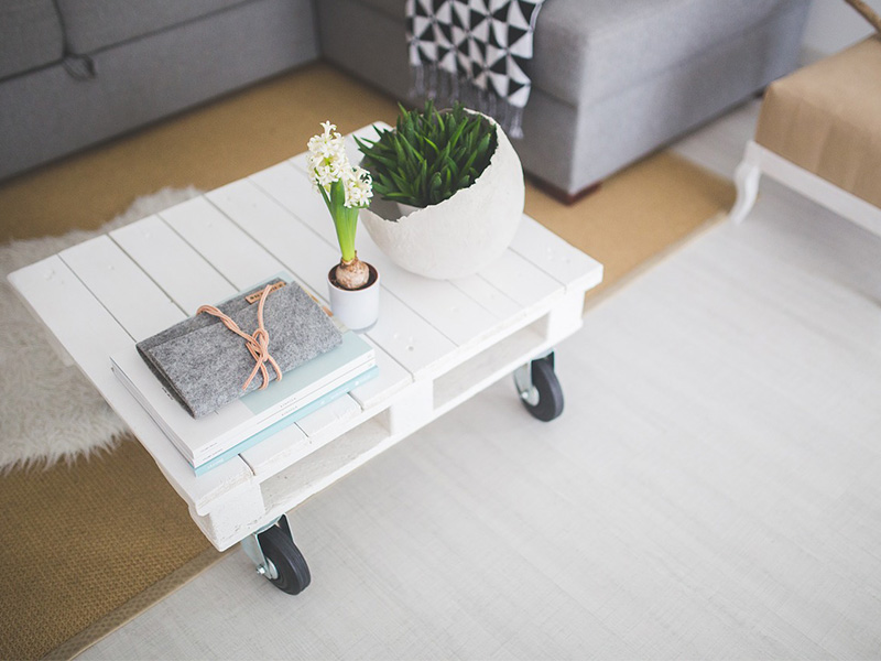 Arredamento minimalist, design